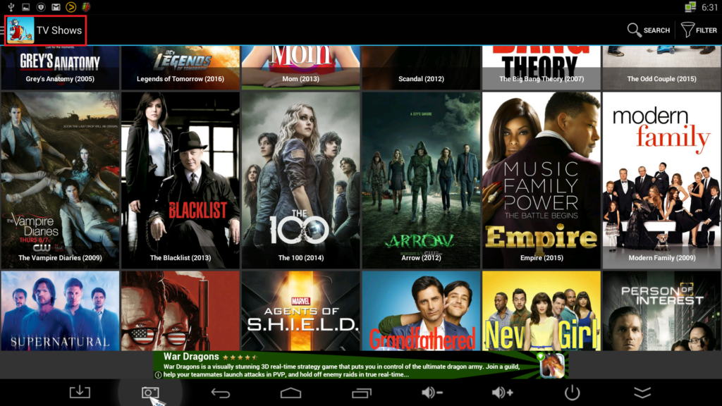 CartoonHD, App for watching English Drama and Movies