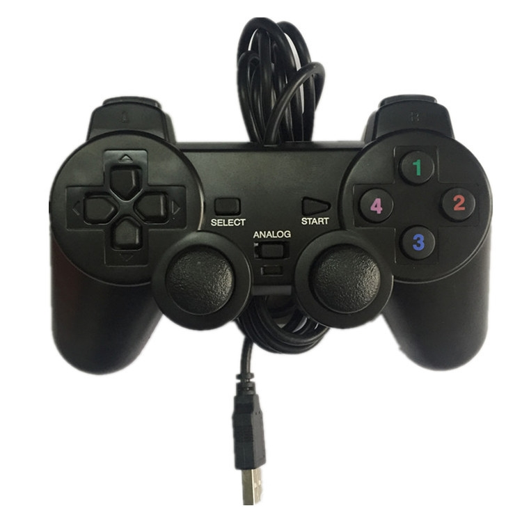 USB PC Game Controller for PC & Computer Games with Dual Joystick